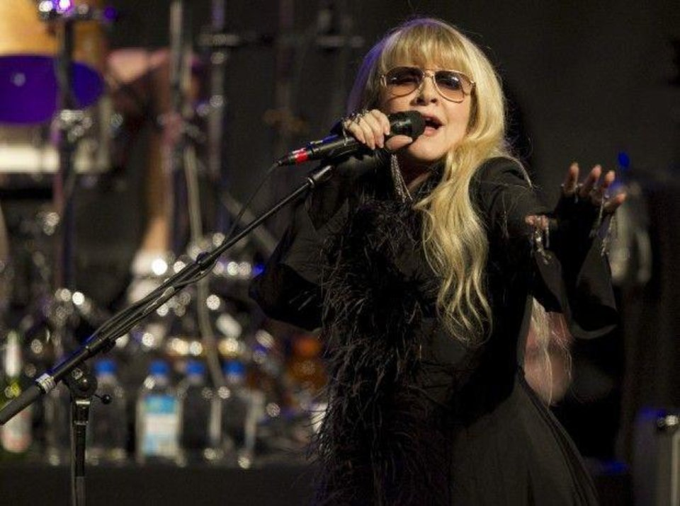 """Stevie Nicks: In Your Dreams"" will show June 9 at the Myriad Botanical Gardens as part of the deadCenter Film Festival. Photo provided. <strong></strong>"