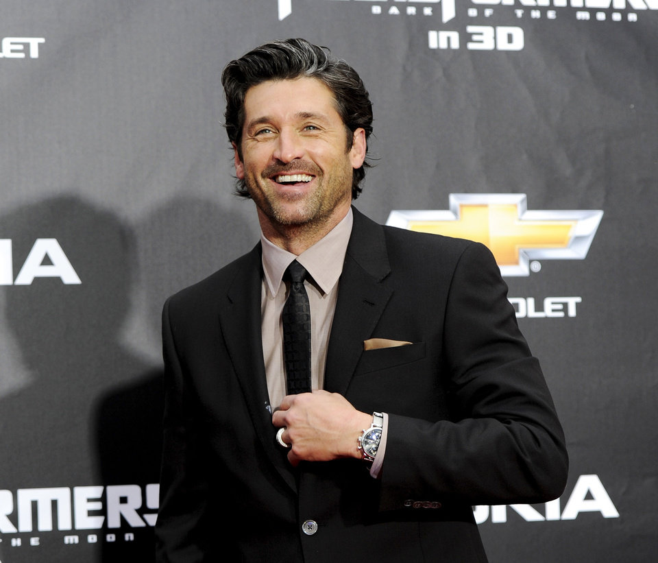 Photo - FILE - In this June 28, 2011 file photo, actor Patrick Dempsey attends the
