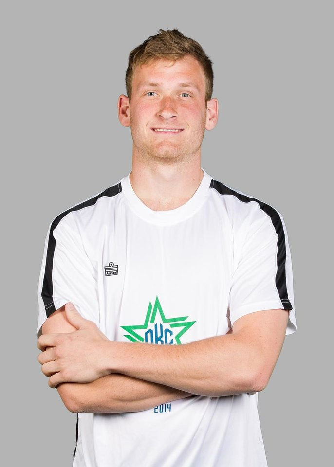 Photo - Kyle Greig, Oklahoma City Energy FC. PHOTO BY STEVEN CHRISTY, FOR THE OKLAHOMA CITY ENERGY FC