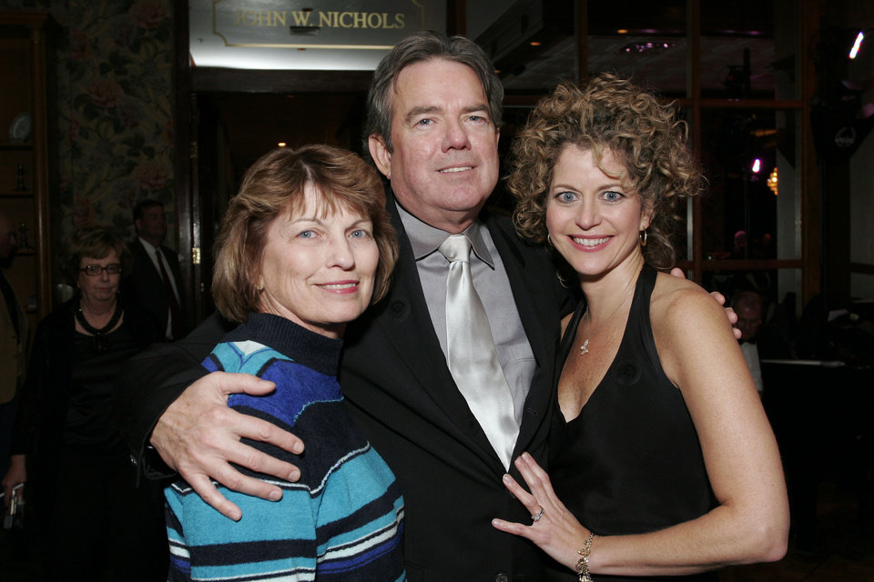 Photo - Janice Linnens, Jimmy Webb, and Laura Webb at the after party for the Centennial Spectacular at the Ford Center Friday, Nov. 16, 2007. By David Faytinger, for The Oklahoman.