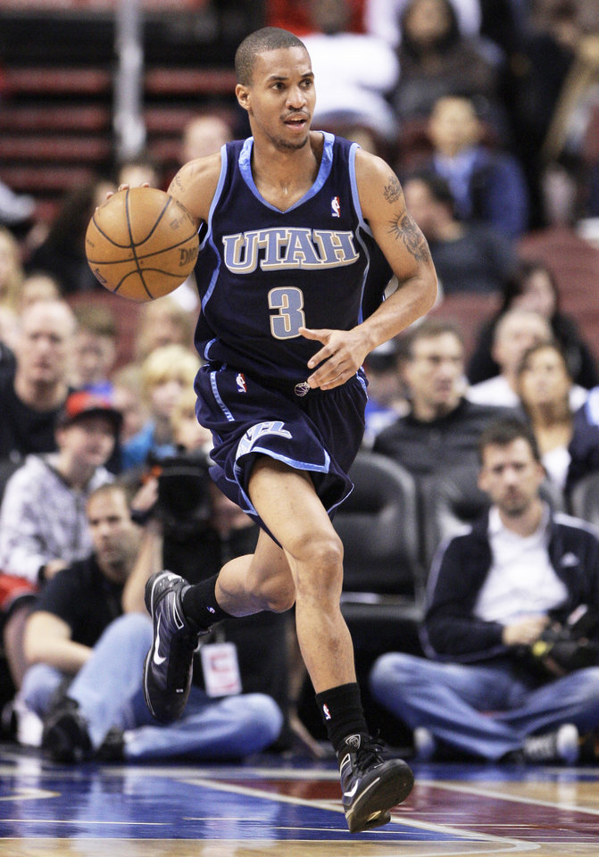 The Thunder has acquired rookie point guard Eric Maynor, a former Virginia Commonwealth player, from Utah. AP photo