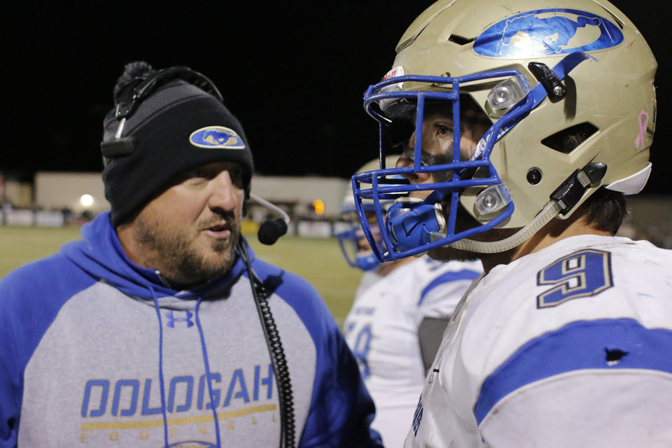 Oologah vs Tuttle football playoff