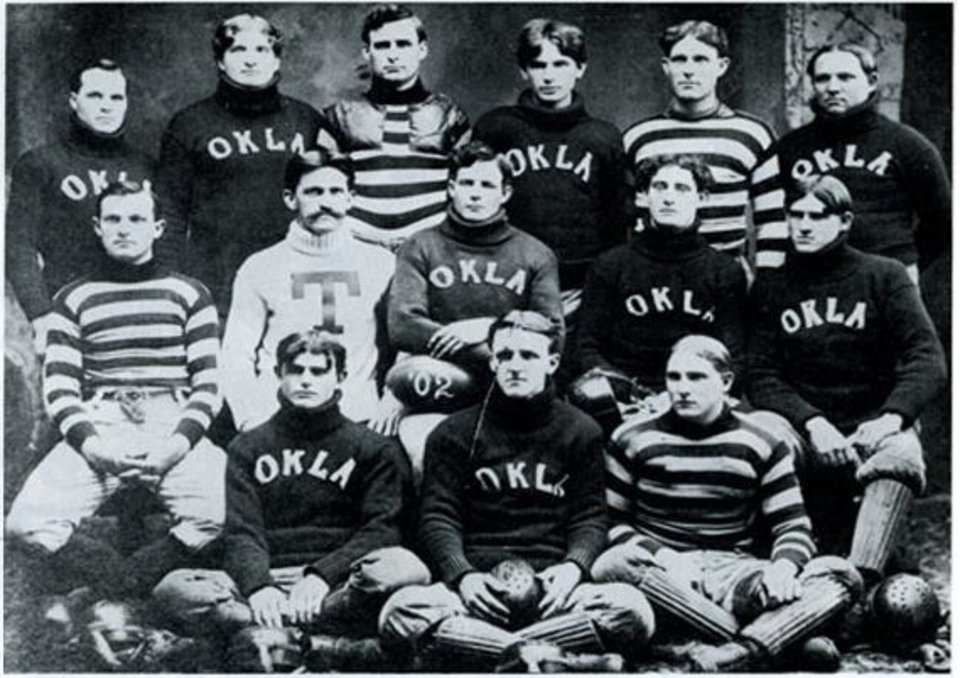 Photo -  It's the 1902 team but you get the idea. Wikicommons