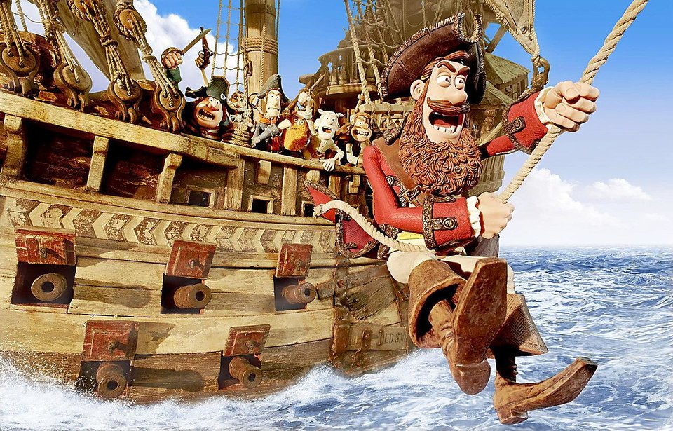 "Hugh Grant voices the Pirate Captain in ""The Pirates! Band of Misfits."" IMAGE PROVIDED"