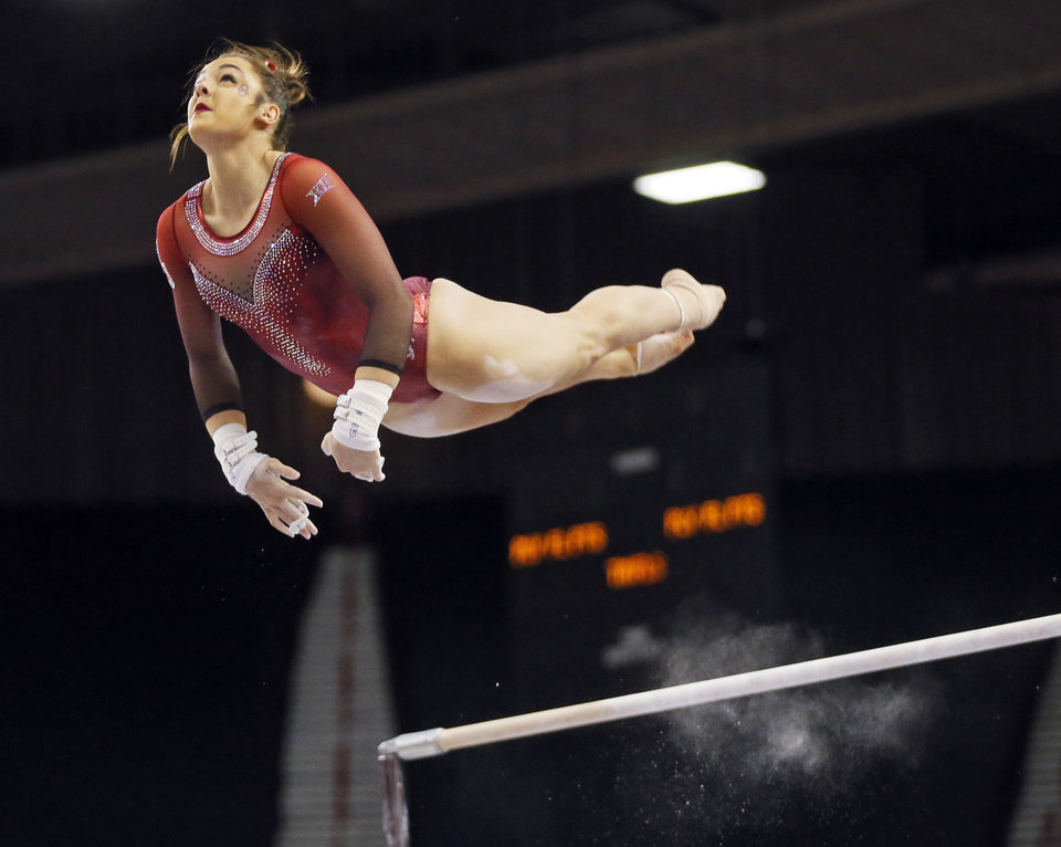 Photo - Maggie Nichols, a former U.S. national team gymnast and current OU sophomore, says she was sexually assaulted by former US team doctor Larry Nassar. Photo by Nate Billings, The Oklahoman