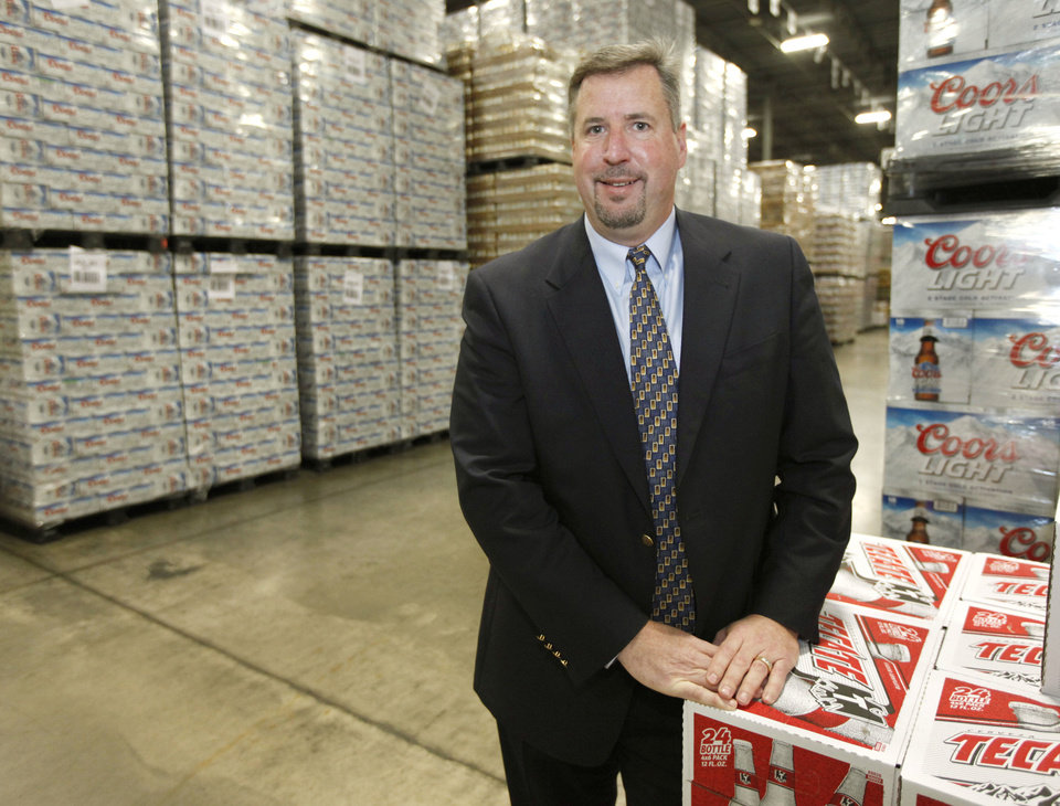 Gordon Green is the General Manager of Capital Distributing in Oklahoma City, OK, Monday, March 11, 2013,  By Paul Hellstern, The Oklahoman