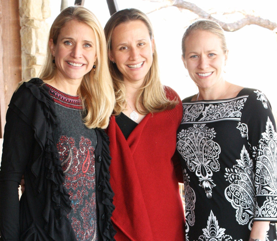 Janna Little Ryan, left, stands with her younger sisters Dana Little Jackson and Molly Little Olcott. Photo Provided