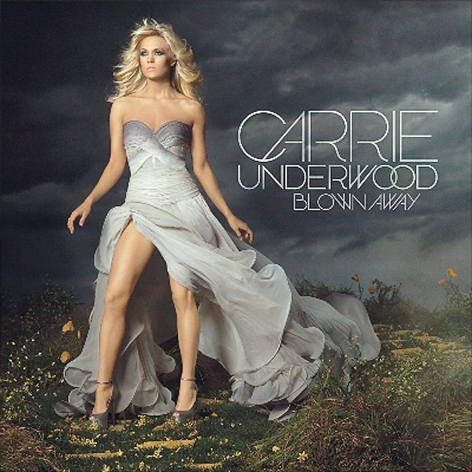 """Carrie Underwood """"Blown Away"""" CD cover      ORG XMIT: 1203062236194587"""