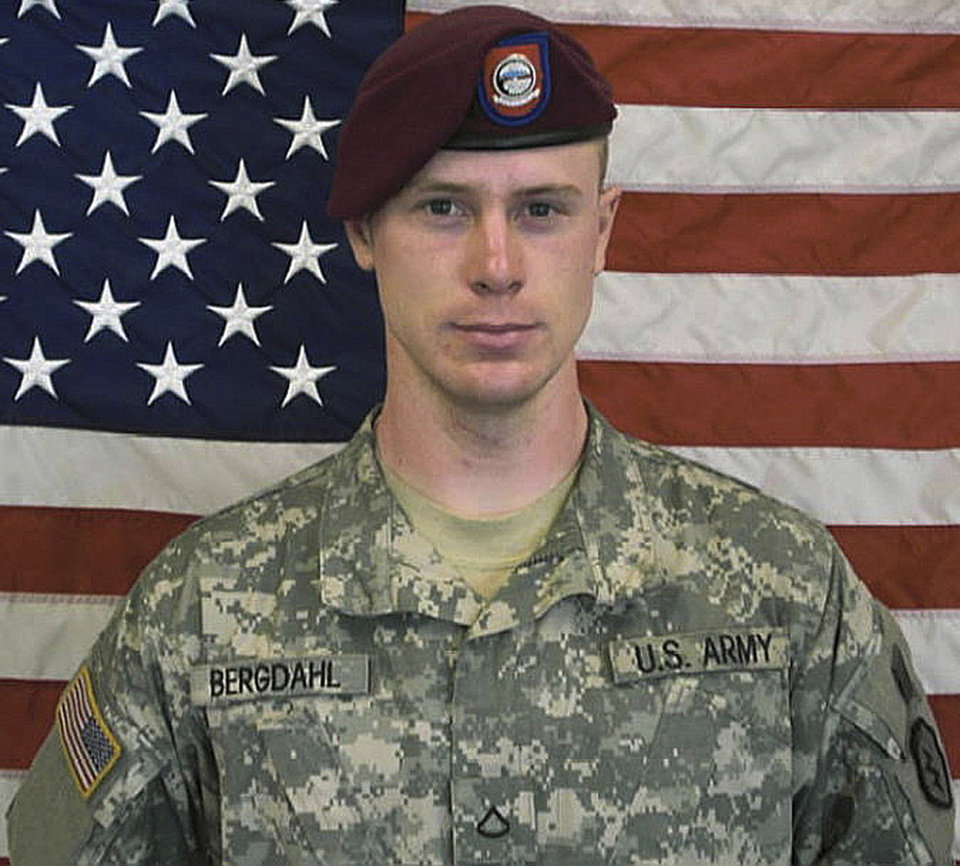 Photo - FILE - This undated file image provided by the U.S. Army shows Sgt. Bowe Bergdahl. A Pentagon investigation concluded in 2010 that Bergdahl walked away from his unit, and after an initial flurry of searching, the military decided not to exert extraordinary efforts to rescue him, according to a former senior defense official who was involved in the matter. Instead, the U.S. government pursued negotiations to get him back over the following five years of his captivity — a track that led to his release over the weekend. (AP Photo/U.S. Army, File)