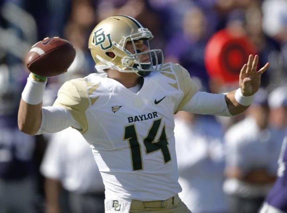 After Baylor\'s Bryce Petty, it\'s hard to pinpoint the Big 12\'s second-best quarterback.