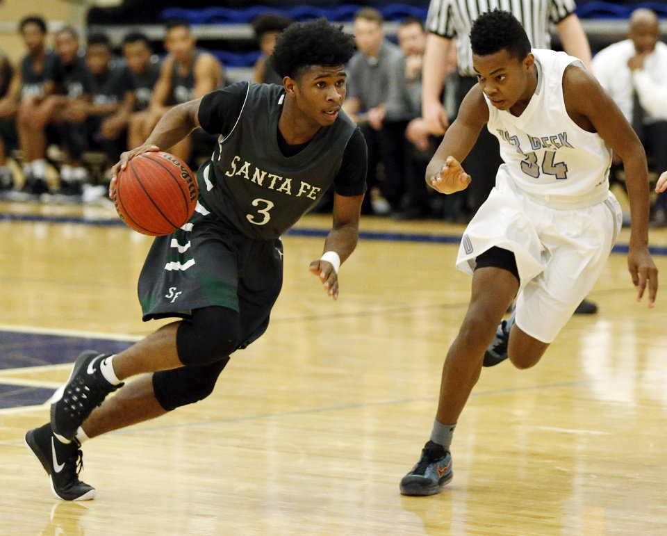 Boys basketball roundup: Edmond Santa Fe finishes strong ...