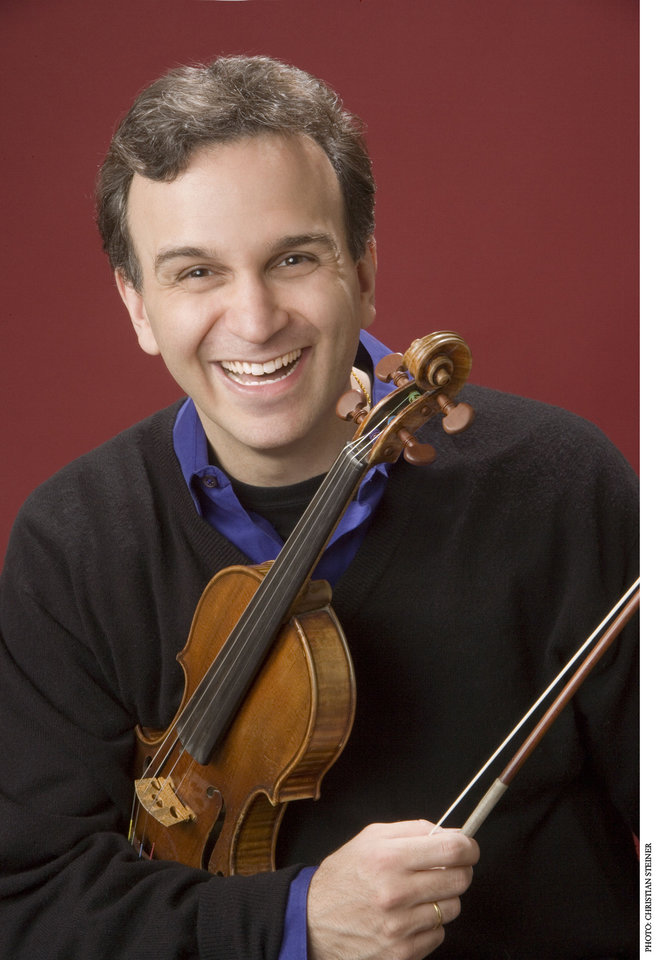 Photo - Gil Shaham. Photo by Christian Steiner.  Photo by Christian Steiner