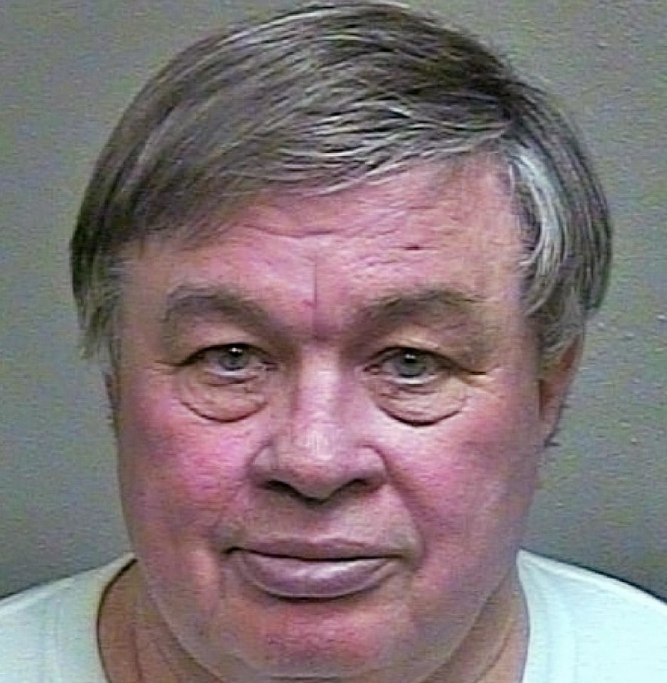 Frank Kirk, 70, of Oklahoma City, was arrested Monday for allegedly smuggling a sex toy into the Oklahoma County jail and duping an inmate into performing sex acts with it.