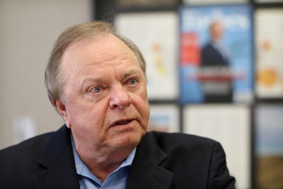 Photo -  Harold Hamm, CEO of Oklahoma City's Continental Resources, has been a leading adviser to Donald Trump on energy matters and favors strong domestic oil and natural gas production. [Photo by Doug Hoke, The Oklahoman Archives]