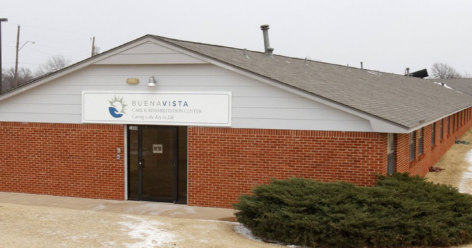 The Buena Vista nursing home is seen Thursday in Midwest City.   Photo by Paul Hellstern, The Oklahoman