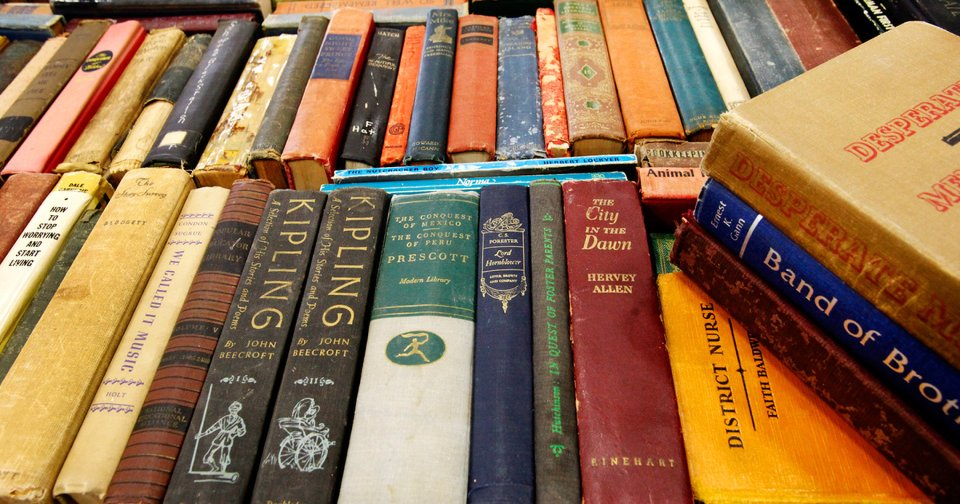 Nearly half of adult Oklahomans need to improve their literacy skills, according to the National Assessment of Adult Literacy study. Photo by Jim Beckel, The Oklahoman archives
