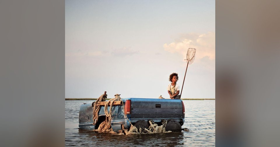 """Quvenzhane Wallis stars in """"Beasts of the Southern Wild.""""  Fox Searchlight photo"""