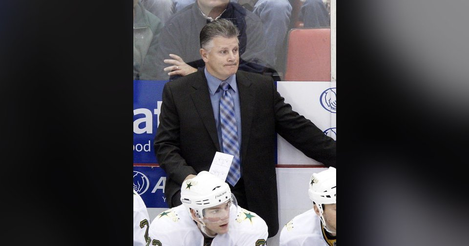 Marc Crawford was fired as the Dallas Stars' coach. AP photo