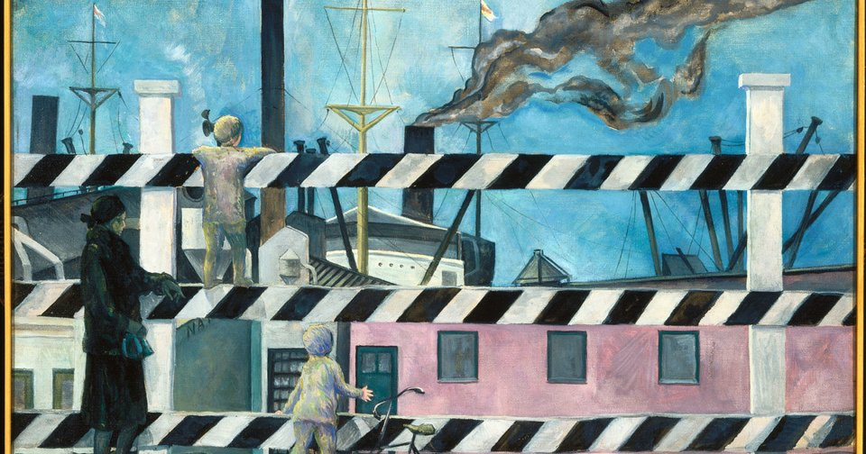 """""""The Blue Peter,"""" a work dating from 1927 or 1928 by Isabel Lydia Whitney. Photo provided"""