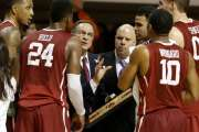 OU men's basketball will open the Big 12 schedule Jan. 2 against Iowa State at the Lloyd Noble Center. Photo by Bryan Terry, The Oklahoman