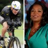 FILE - This combination image made of file photos shows Lance Armstrong, left, on Oct. 7, 2012, and Oprah Winfrey, right, on March 9, 2012. According to a release posted on Oprah\'s website on Tuesday, Jan. 8, 2013, Armstrong has agreed to a rare televised interview that will air next week and will address allegations that he used performance-enhancing drugs during his cycling career. (AP Photos/File)