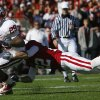 Oklahoma\'s Chris Brown (29) gets past Stanford\'s Bo McNally (22) during the first half of the Brut Sun Bowl college football game between the University of Oklahoma Sooners (OU) and the Stanford University Cardinal on Thursday, Dec. 31, 2009, in El Paso, Tex. Photo by Chris Landsberger, The Oklahoman