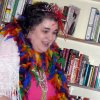 """Becky Walderbach, media specialist at Charles Haskell elementary school, dresses up """"fancy"""" for a special """"Fancy Nancy"""" activity at Best of Books. Community Photo By: Connie Mashburn Submitted By: Connie,"""
