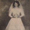 A desire for her mother to make her wedding gown led to the one Anna Jo Crothers Putman said,