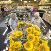 Even sunflowers are sold at the new Sunflower Farmers Market grocery store in Oklahoma City, OK, Tuesday, Aug. 30, 2011. By Paul Hellstern, The Oklahoman