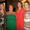 Stacey Stiglets, Erin Fitzgerald, Heather Ross, and Molly Fritch were at the party hosted by Lil Ross and Fritch. (Photo by Helen Ford Wallace).