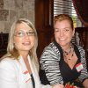 Mindy Gasspari, Sonja Smith enjoyed the Edmond Women\'s Club event. (Photo provided).