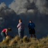 Residents watch as the Black Forest Fire burns northeast of Colorado Springs, Colo, Tuesday, June 11, 2013. The fire burned several homes and forced the evacuation of thousands of people. (AP Photo/Bryan Oller)
