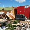 Storm damage from tornado that went through west El Reno Tuesday, May 24, 2011. Photo by Chris Landsburger, The Oklahoman