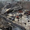Bangladeshi rescuers work at the site of a building that collapsed Wednesday in Savar, near Dhaka, Bangladesh, Friday, April 26, 2013. More than two days after their factory collapsed on them, at least some garment workers were still alive in the corpse-littered debris Friday, pinned beneath tons of mangled metal and concrete. The death toll topped 300 on Friday and it remained unclear what the final grim number would be as some survivors are still being pulled from the rubble. (AP Photo/A.M. Ahad)