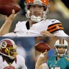 Photo - Brandon Weeden with the Browns, Robert Griffin III with the Redskins, Ryan Tannehill with the Dolphins: three Big 12 rookie quarterbacks who are scheduled to start season openers.