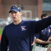 OKLAHOMA STATE UNIVERSITY / OSU / COLLEGE FOOTBALL: New Oklahoma State offensive coordinator Mike Yurcich is pictured during a 2012 game at Shippensburg University. PHOTO COURTESY BILL SMITH, Shippensburg Sports Information ------- KOD