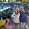 Rosie Dalton, left, and Sande Brandt have started a boutique on wheels, Couture in a Can, in a specially outfitted Airstream travel trailer, March 11, 2013, in Fort Worth, Texas. (Ron T. Ennis/Fort Worth Star-Telegram/MCT)