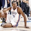 Photo - Thunder forward Kevin Durant has said that anything less than the 2010 playoffs would be a disappointment, but that goal, while possible, isn't very likely. PHOTO BY BRYAN TERRY, THE OKLAHOMAN