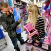 Trevor Fernandez and Brittany Pistole shop at Toys R Us as they open at 8 p.m. for pre-Black Friday Sales on Thursday, Nov. 22, 2012, in Norman, Okla. Photo by Steve Sisney, The Oklahoman