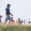 Photo - Phil Mickelson of the US walks along the 12th fairway during the second day of the British Open Golf championship at the Royal Liverpool golf club, Hoylake, England, Friday July 18, 2014. (AP Photo/Scott Heppell)
