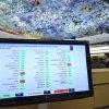 A screen shows the results of the vote after The Syria draft resolution was just adopted by the Council during the 21th session of the Human Rights Council at the European headquarters of the United Nations in Geneva, Switzerland, Friday, Sept. 28, 2012. The U.N.\'s top human rights body on Friday extended by six months the mission of its independent expert panel probing alleged war crimes in Syria\'s 18-month conflict. (AP Photo/Keystone, Martial Trezzini)