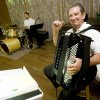 Dick Albreski plays the accordian and Ken Leck plays the drums with the band Bohemian Knights during the weekly Polka dance at the Yukon Czech Hall, 205 Czech Hall Road in Yukon, Okla., June 14, 2008. BY NATE BILLINGS, THE OKLAHOMAN