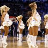 The Thunder Girls dance team performs during an NBA basketball game between the Oklahoma City Thunder and Charlotte Bobcats at Chesapeake Energy Arena in Oklahoma City, Monday, Nov. 26, 2012. Oklahoma City won, 114-69. Photo by Nate Billings , The Oklahoman