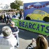 A UCO float passes by during the University of Central Oklahoma\'s homecoming parade in Edmond, OK, Saturday, November 3, 2012, By Paul Hellstern, The Oklahoman