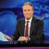 Photo -   FILE - This Nov. 30, 2011 file photo shows television host Jon Stewart during a taping of