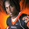 Tulsa Washington High School\'s Michael Harris All State Halfback. By Doug Hoke, The Oklahoman.