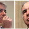 This photo combo of file photos shows Bill Ackman, left, of Pershing Square Capital Management, on Feb. 6, 2012, in Toronto, and financier Carl Icahn, on Feb. 7, 2006, in New York. A long-simmering spat between billionaire investors Icahn and Ackman boiled over publicly on Friday, Jan. 25, 2013. The two Wall Street titans, interviewed by phone simultaneously on CNBC, traded barbs about an old investment deal and on Ackman's investment position in nutritional supplements distributor Herbalife Inc. (AP Photo/Pawel Dwulit, Shiho Fukada)