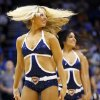 The Thunder Girls dance team performs during an NBA basketball game between the Oklahoma City Thunder and the Sacramento Kings at Chesapeake Energy Arena in Oklahoma City, Monday, April 15, 2013. Oklahoma City won, 104-95. Photo by Nate Billings, The Oklahoman