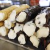 FOOD: Cannoli stacked up at Falcone\'s Pizzeria and Deli in Oklahoma City Tuesday, Dec. 13, 2011. Photo by Paul B. Southerland, The Oklahoman ORG XMIT: KOD