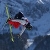 Photo - Joss Christensen of the United States jumps the men's ski slopestyle final to win the gold medal at the Rosa Khutor Extreme Park, at the 2014 Winter Olympics, Thursday, Feb. 13, 2014, in Krasnaya Polyana, Russia. (AP Photo/Sergei Grits)